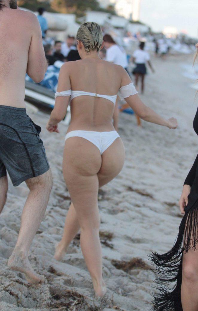 YesJulz in White Bikini 2017 -91