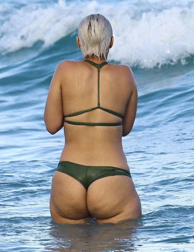 YesJulz - Wearing Bikini on the Beach in Miami
