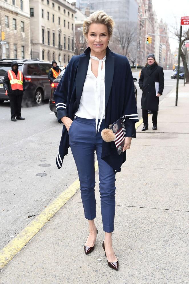 Yolanda foster clothing style