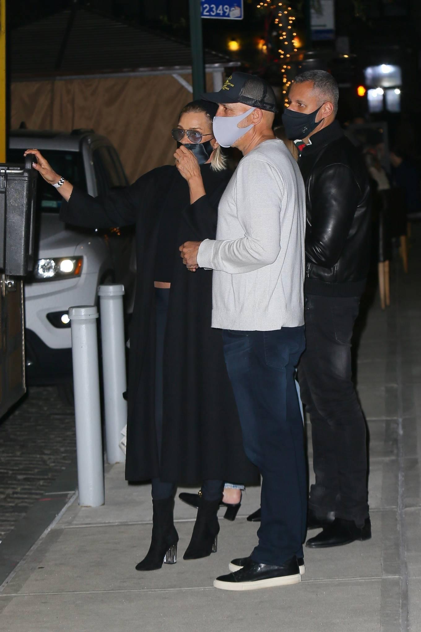 Yolanda Hadid - Arriving to Gigi's Birthday in New York