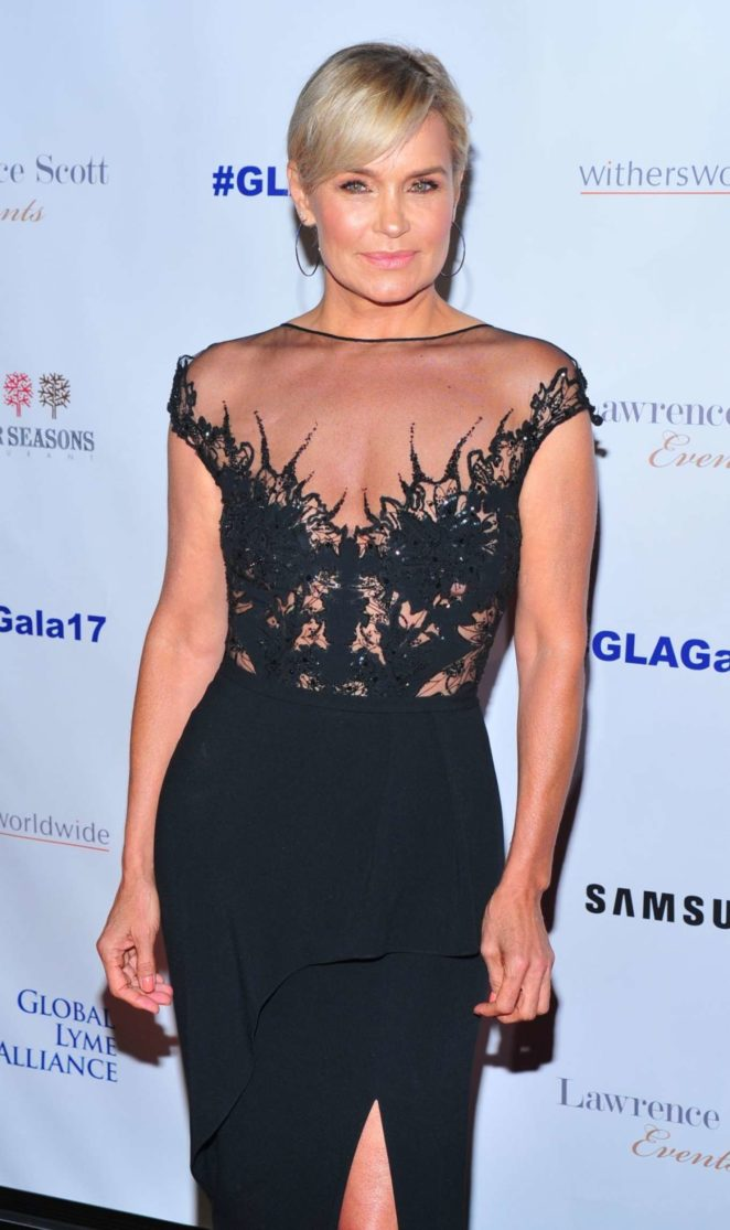 Yolanda Hadid - Global Lyme Alliance 3rd Annual Gala in New York