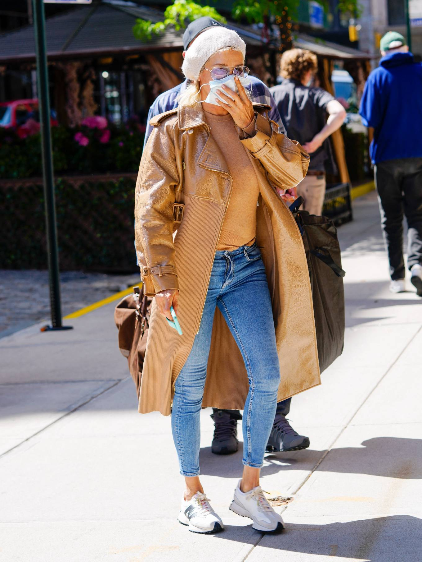 Yolanda Hadid - Out and about in New York
