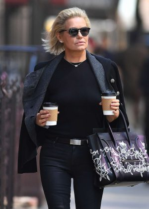 Yolanda Hadid out in New York City