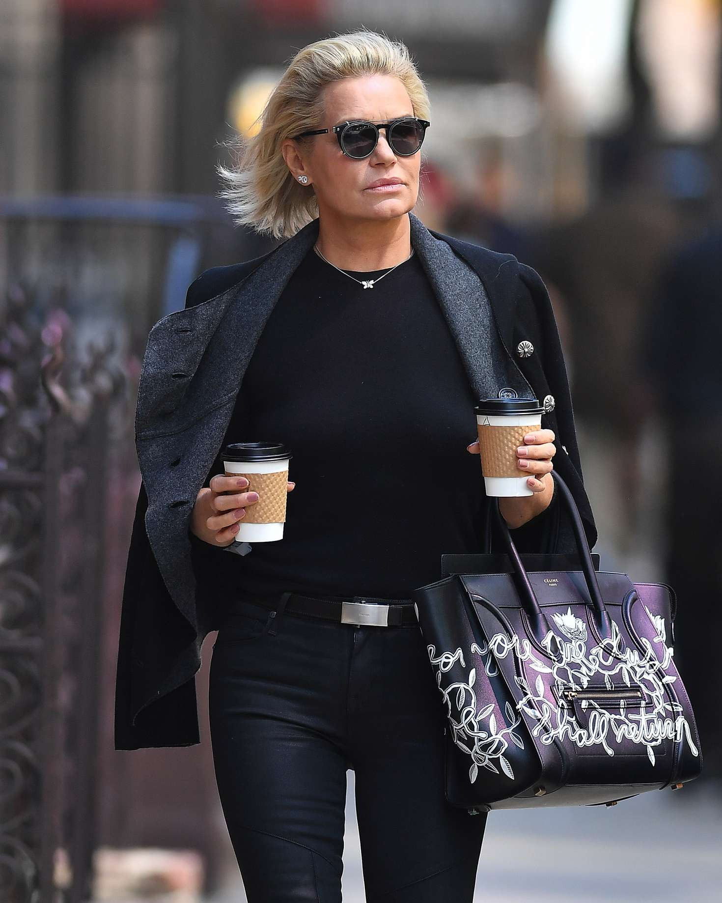 Yolanda Hadid out in New York City