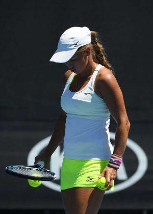 Yulia Putintseva - 2018 Australian Open in Melbourne - Day 4
