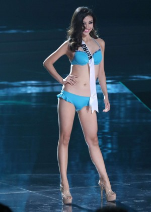 Yun Fang Xue - Miss Universe 2015 Preliminary Round in Las Vegas