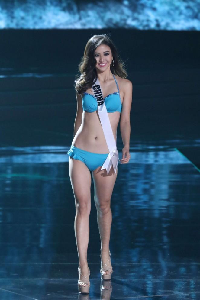 Yun Fang Xue: Miss Universe 2015 Preliminary Round -02