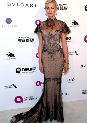 Yvonne Strahovski - 2016 Elton John AIDS Foundation's Oscar Viewing Party in West Hollywood