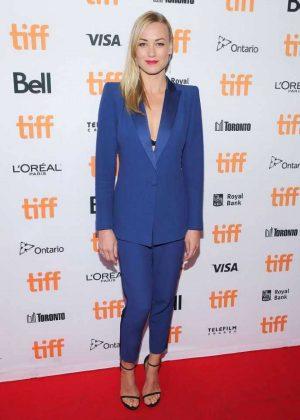Yvonne Strahovski - 'All I See Is You' Premiere at 2016 Toronto International Film Festival