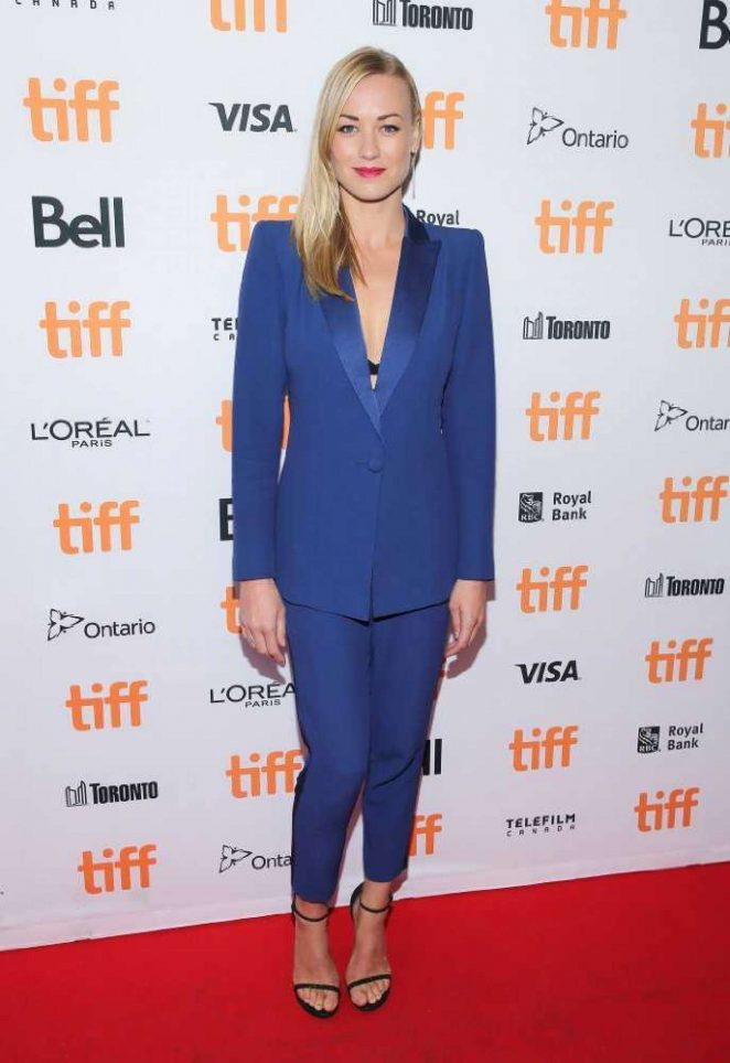 Yvonne Strahovski – 'All I See Is You' Premiere at 2016 Toronto International Film Festival