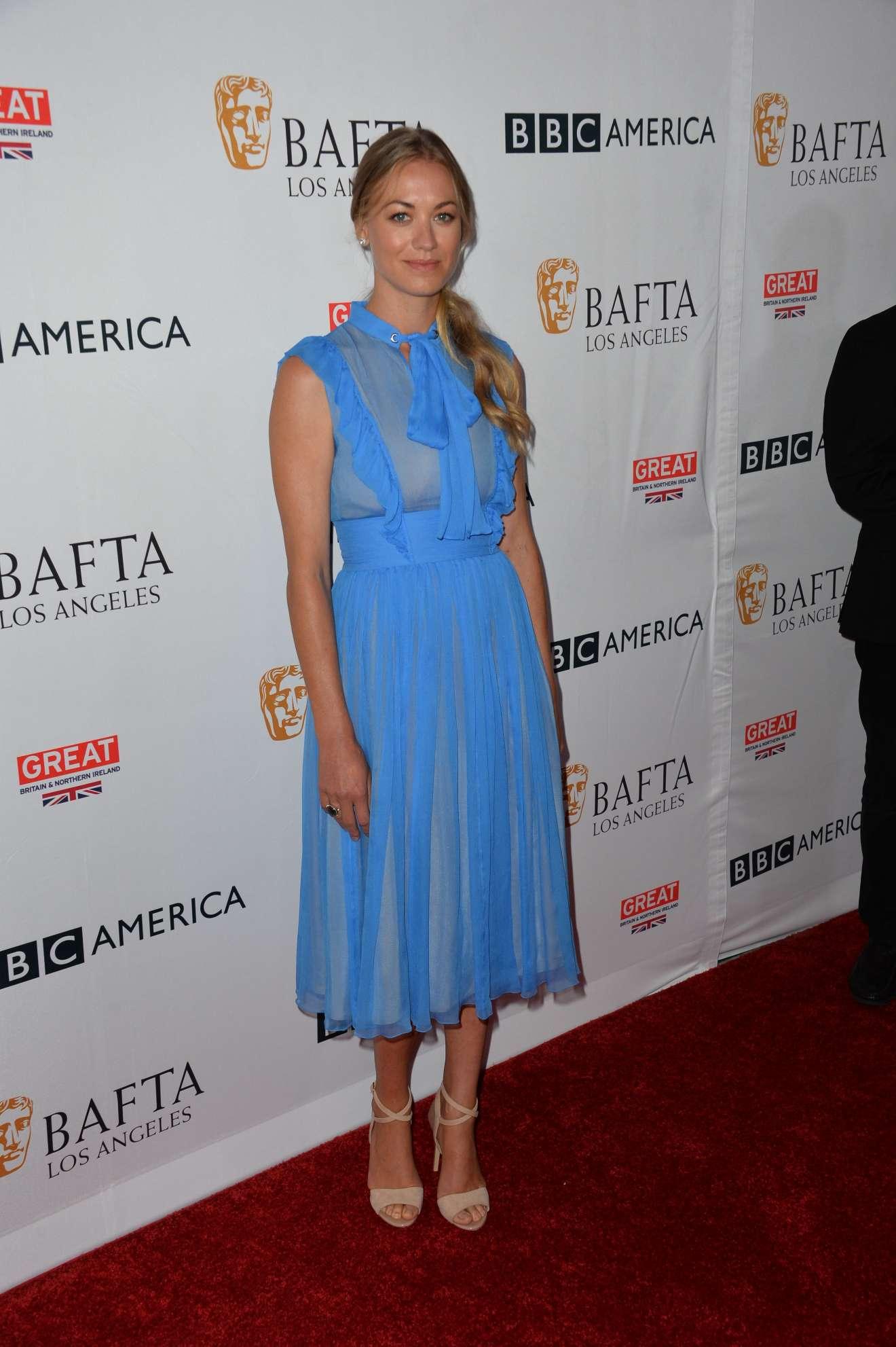 Yvonne Strahovski - BBC America BAFTA Los Angeles TV Tea Party 2017
