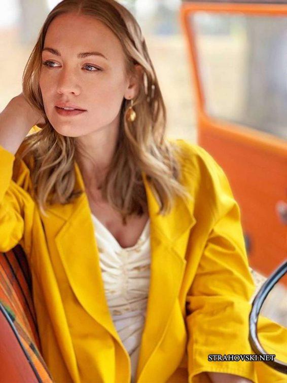 Yvonne Strahovski - Glamour UK Magazine (July 2019)