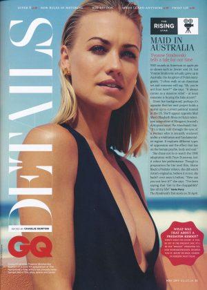 Yvonne Strahovski - GQ UK Magazine (May 2017)