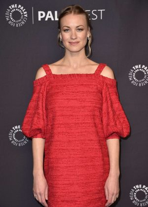 Yvonne Strahovski - 'Handmaids Tale' Screening at 2018 PaleyFest LA in Los Angeles