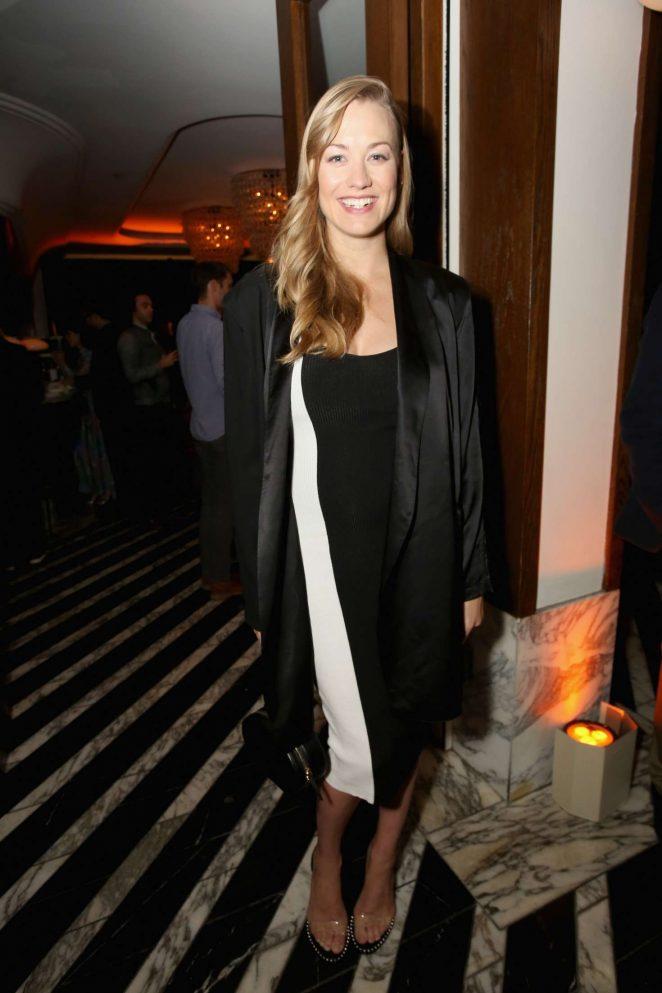 Yvonne Strahovski – Hulu Holiday Party in Los Angeles