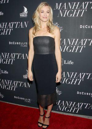 Yvonne Strahovski - 'Manhattan Night' Premiere in New York