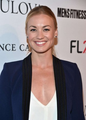 Yvonne Strahovski - MEN'S FITNESS Celebration of The 2015 Game Changers in West Hollywood