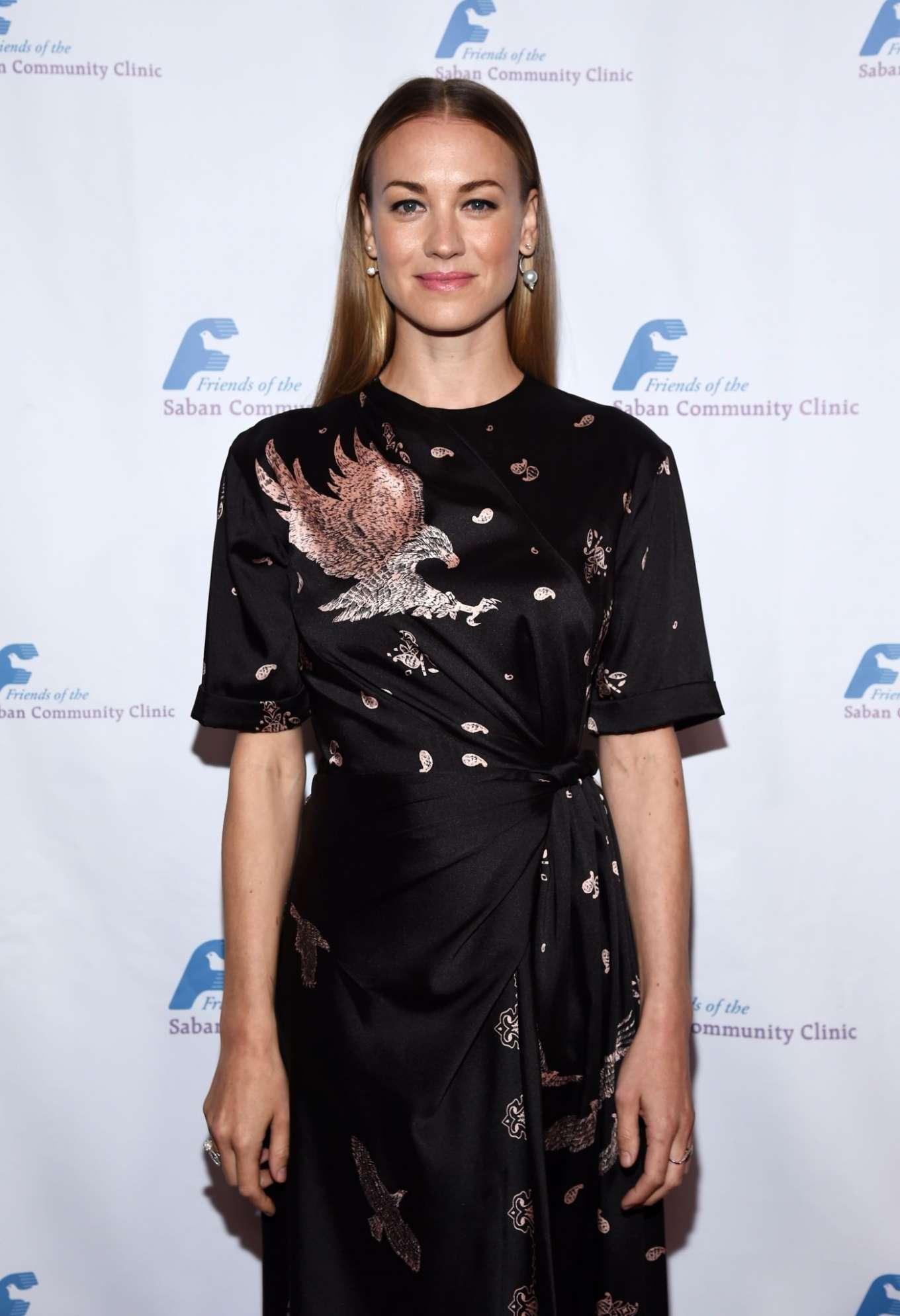 Yvonne Strahovski - Saban Cummunity Clinic's 43rd Annual Dinner Gala in Beverly Hills