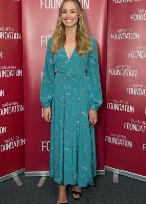Yvonne Strahovski - SAG-AFTRA Foundation's Conversations with 'The Handmaid's Tale' in LA