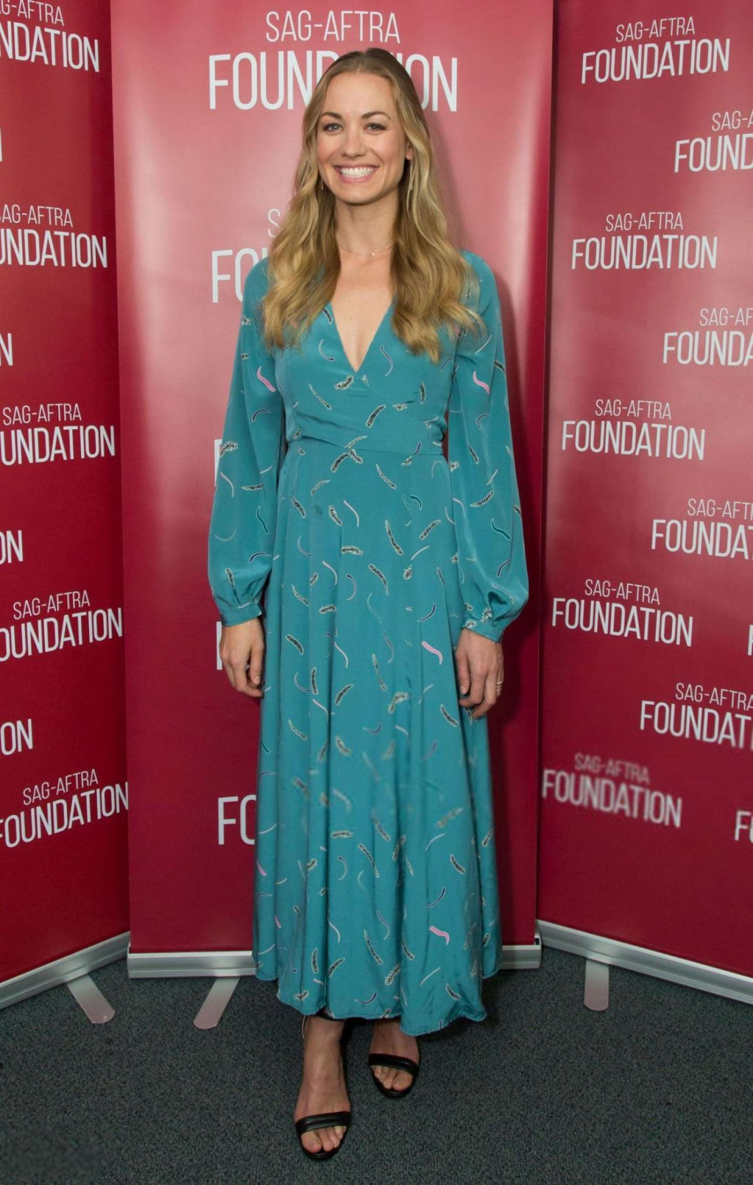 Yvonne Strahovski - SAG-AFTRA Foundation's Conversations with 'The Handmaid's Tale' in LA