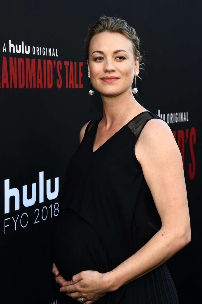 Yvonne Strahovski – 'The Handmaid's Tale' TV Show Finale in Los Angeles