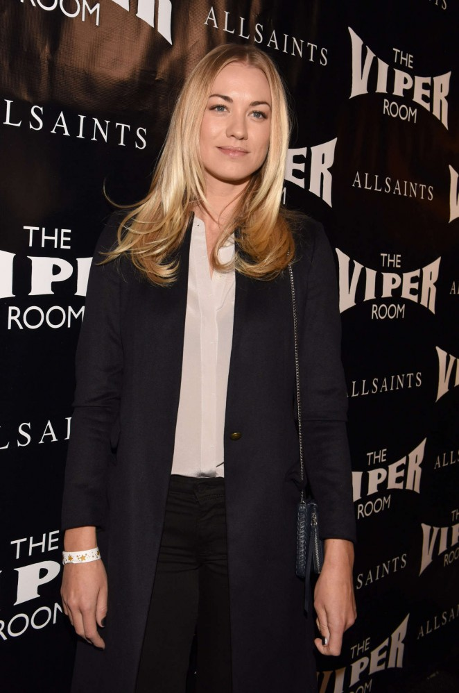 Yvonne Strahovski - The Official Viper Room Re-Launch Party in West Hollywood