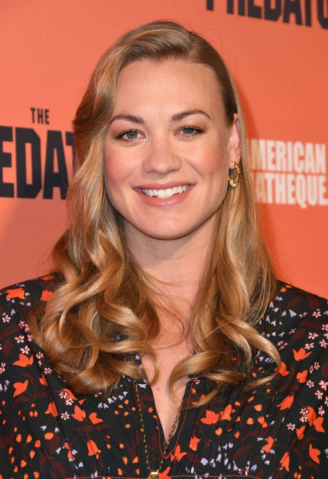 Yvonne Strahovski – 'The Predator' Screening in Los Angeles
