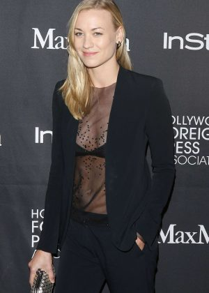 Yvonne Strahovski - TIFF/InStyle/HFPA Party at 2016 TIFF in Toronto