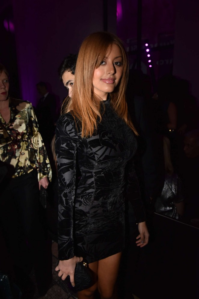 Zahia Dehar - 50th Anniversary Of Emanuel Ungaro in Paris
