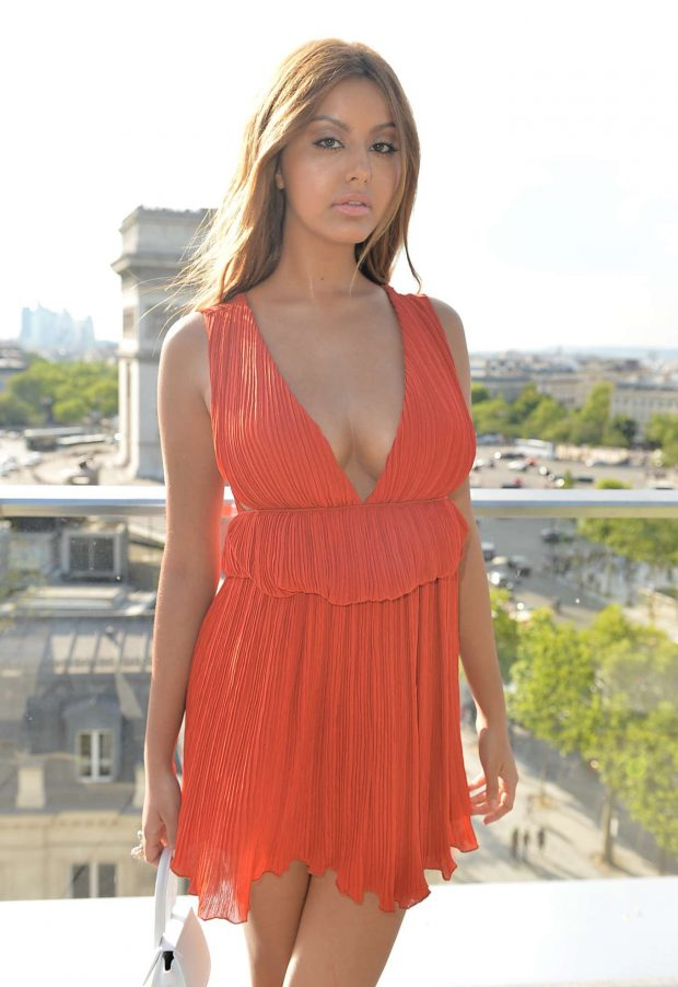 Zahia Dehar - 8th Champs Elysees Film Festival Opening in Paris