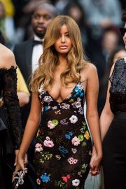Zahia Dehar - 'A Hidden Life' Premiere in Cannes adds
