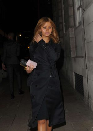 Zahia Dehar at Lou Lous Members Club in London