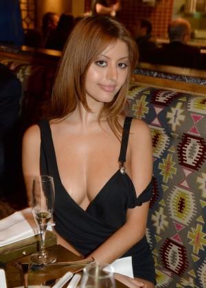 Zahia Dehar - Opening of Peruvian Restaurant Manko in Paris