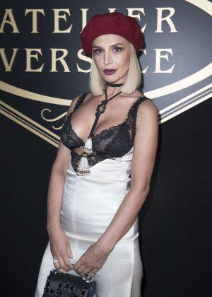 Zara Alexandrova - Atelier Versace Fashion Haute-Couture F/W 2016/2017 in Paris
