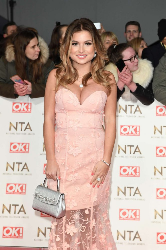 Zara Holland - 2017 National Television Awards in London