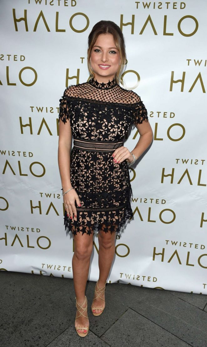 Zara Holland - Launch of Twisted Halo at Australasia Restaurant in Manchester