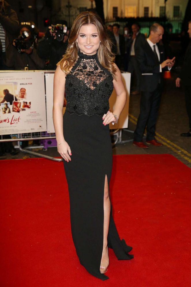 Zara Holland – 'Mum's list' Premiere in London