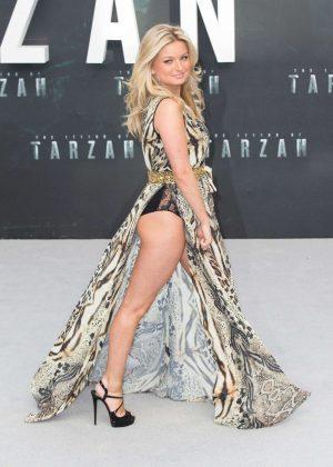 Zara Holland - 'The Legend Of Tarzan' Premiere in London