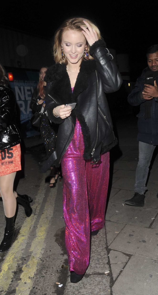Zara Larsson at the Tape nightclub -13