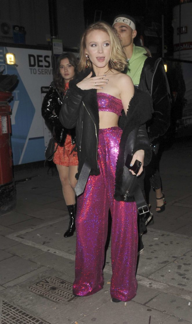 Zara Larsson at the Tape nightclub -21