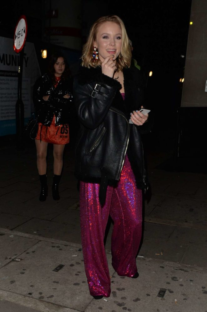 Zara Larsson at the Tape nightclub -24