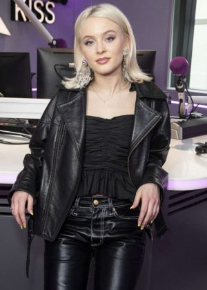 Zara Larsson - Kiss FM Studio in London