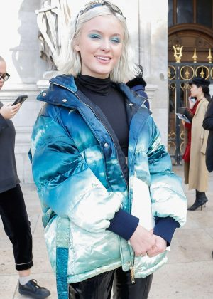 Zara Larsson - Leaving Stella McCartney Fashion Show in Paris