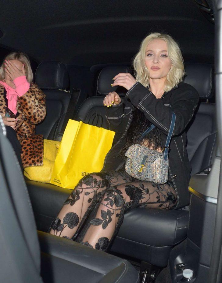 Zara Larsson: Night out in London -02