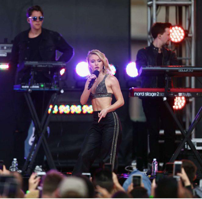 Zara Larsson: Performs at 2017 MTV Movie And TV Awards -29