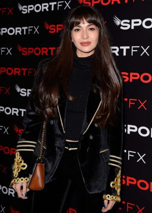 Zara Martin - SPORTFX Cosmetic and Sports Launch Party in London