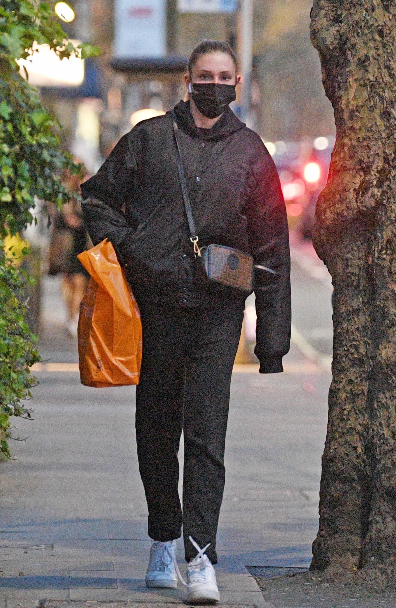 Zara McDermott 2021 : Zara McDermott – Is seen leaving Sainsburys in West London-04