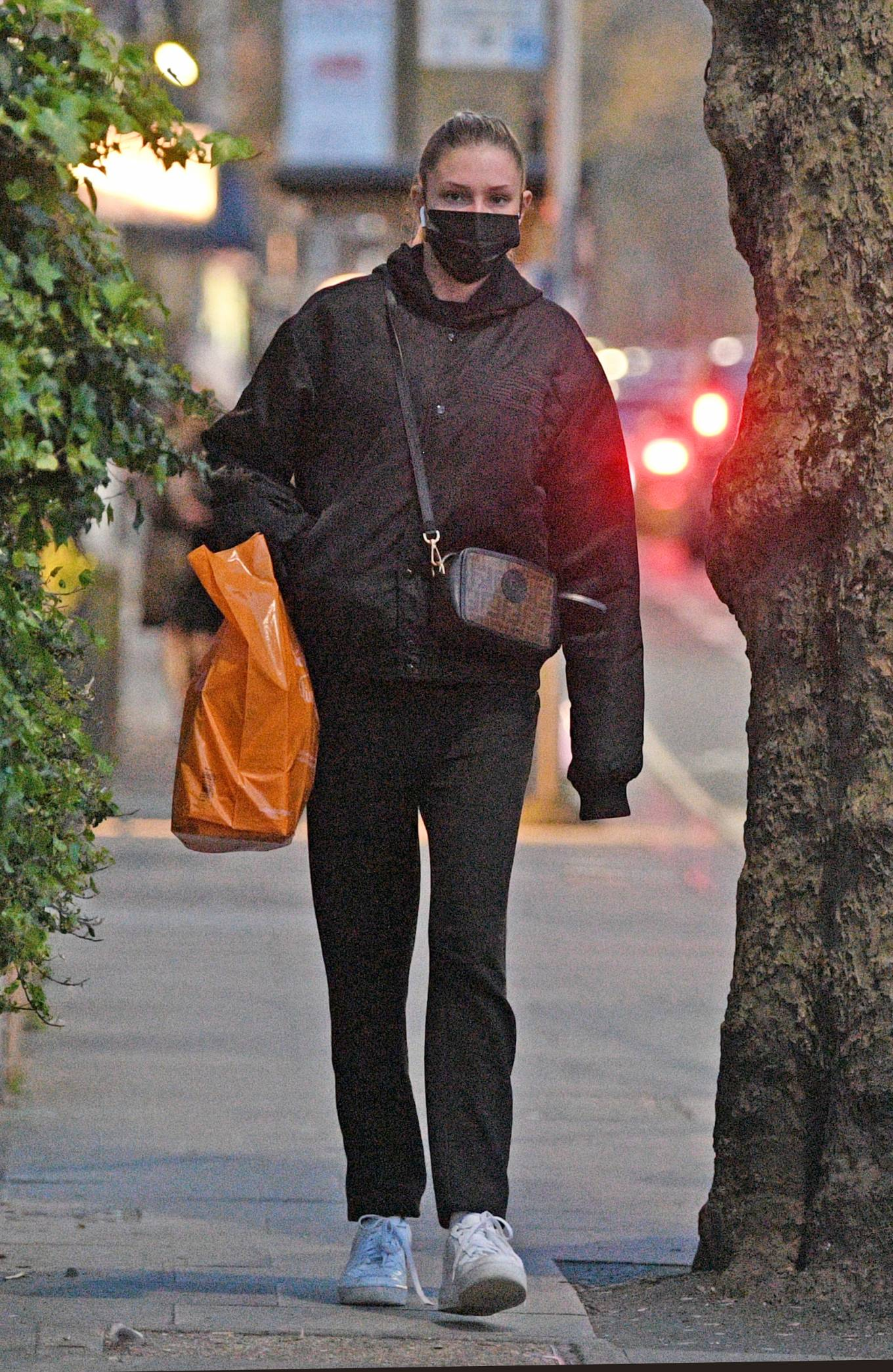 Zara McDermott 2021 : Zara McDermott – Is seen leaving Sainsburys in West London-08
