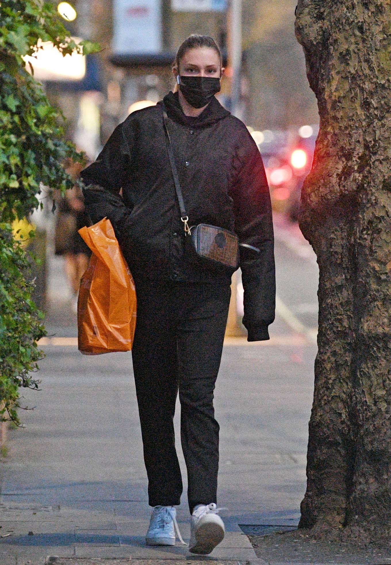 Zara McDermott 2021 : Zara McDermott – Is seen leaving Sainsburys in West London-12