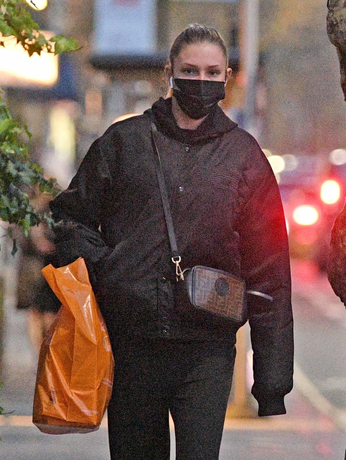 Zara McDermott 2021 : Zara McDermott – Is seen leaving Sainsburys in West London-13